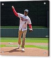 Cleveland Indians V Minnesota Twins Acrylic Print