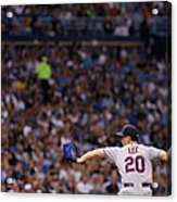 Cleveland Indians V Tampa Bay Rays Acrylic Print