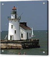 Cleveland Lighthouse Acrylic Print