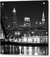 Cleveland Shining Bright Acrylic Print