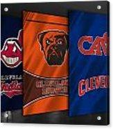Cleveland Sports Teams Acrylic Print