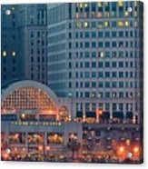 Clevelands Tower City Acrylic Print