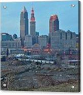 Clevelands Urban Side Acrylic Print