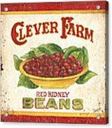 Clever Farms Beans Acrylic Print