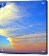 Click #5 From A Rest Stop On The Chesapeake Bay Bridge Tunnel Acrylic Print