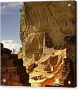 Cliff Dwelling Acrylic Print
