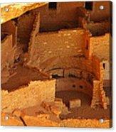 Cliff Dwellings Acrylic Print