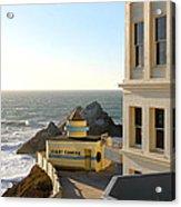 Cliff House Giant Camera Acrylic Print