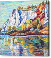 Cliff Landscape Acrylic Print