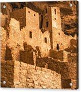 Cliff Palace Townhomes Acrylic Print