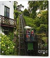 Cliff Railway  Acrylic Print