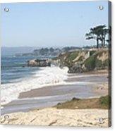 Santa Cruz Cliffline  Acrylic Print
