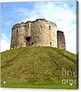 Clifford's Tower York Acrylic Print