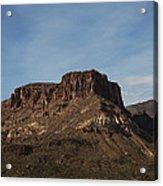 Cliffs Above Apache Lake Acrylic Print