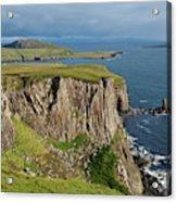 Cliffs Along The Rugged North Coast Acrylic Print