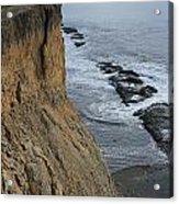D3a6138-cliffs At Bolinas  Acrylic Print