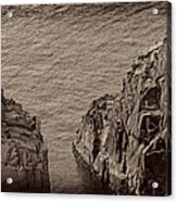 Cliffs At Bonavista Acrylic Print