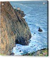 Cliffs Acrylic Print by JC Findley