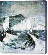 Cliffs Of Dover Acrylic Print