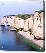 Cliffs Of Etretat 3 Acrylic Print