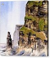 Clare   The Cliffs Of Moher   Acrylic Print