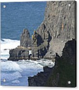 Cliffs Of Moher 6 Acrylic Print by Mike McGlothlen