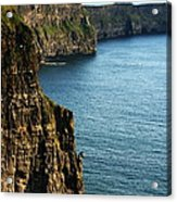 Cliffs Of Moher Clare Ireland Acrylic Print