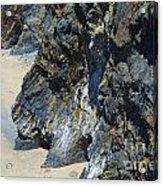 Cliffs Of Pembrokeshire Acrylic Print