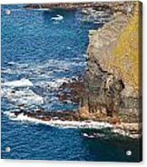 Cliffs Of Time Acrylic Print