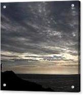 Clifftop Silhouettes Acrylic Print