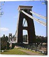 Clifton Suspension Bridge Bristol Acrylic Print