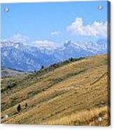 Climb Every Mountain Acrylic Print