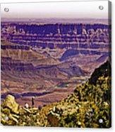 Climbing In Grand Canyon Acrylic Print