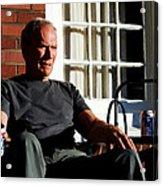 Clint Eastwood @ Grand Torino- 2 Acrylic Print
