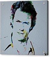 Clint Eastwood 2 Acrylic Print