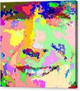 Clint Eastwood Abstract 01 Acrylic Print