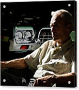 Clint Eastwood As Walt Kowalski In The Film Grand Torino - Clint Eastwood - 2008 Acrylic Print