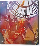 Clock Cafe Acrylic Print