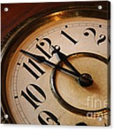 Clock Face Acrylic Print