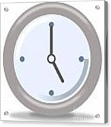 Clock Five Acrylic Print
