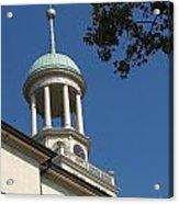 Clock Tower - Central Moravian Church Acrylic Print