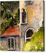 Clock Tower England Acrylic Print