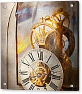 Clockmaker - A Look Back In Time Acrylic Print