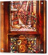 Clockmaker - An Ornate Clock Acrylic Print