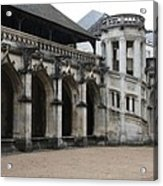 Cloister And Staircase Cathedral Tours Acrylic Print