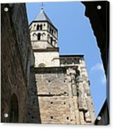 Cloister Cluny Church Steeple Acrylic Print