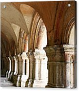 Cloister In Fontenay Abbey, France Acrylic Print