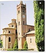 Cloister Monte Oliveto Maggiore Acrylic Print