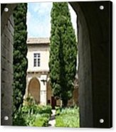Cloistergarden Chartreuse Acrylic Print