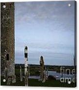 Clonmacnoise On The River Shannon Acrylic Print